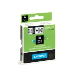 DYMO® D1 Label Cassette / 6mm x 7m / Black on Clear